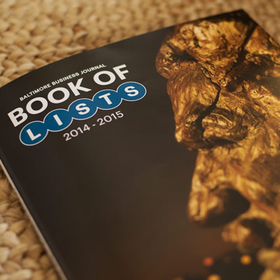 Image of 2014-2015 BBJ Book of Lists