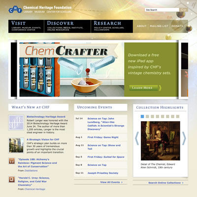 CHF ChemCrafter page