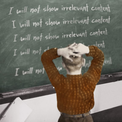 I will not show irrelevant content written on blackboard